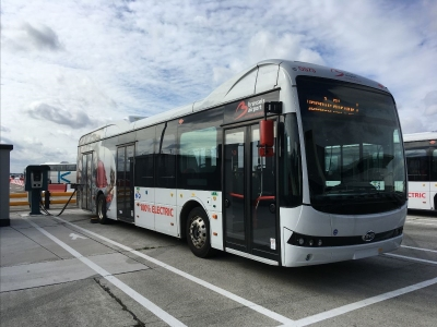 e-buses Brussels Airport